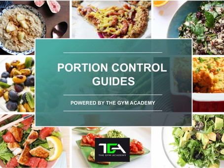 A quick and easy way for you to understand portion control