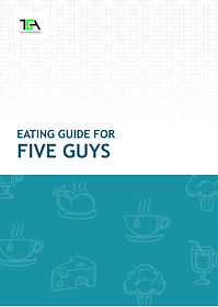 Five Guys nutrition guide