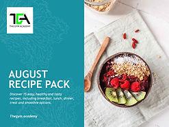 August 2020 Recipe Pack