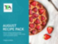 August Recipe Pack