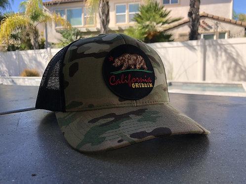 California Grillin Camo Trucker Hat