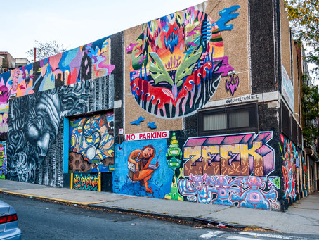 Street Art and Brunch Along 30th Ave