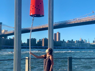 Public Art and Ice Cream Stroll Along Brooklyn Bridge Park