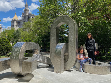 Public Art Walk Through Downtown Manhattan