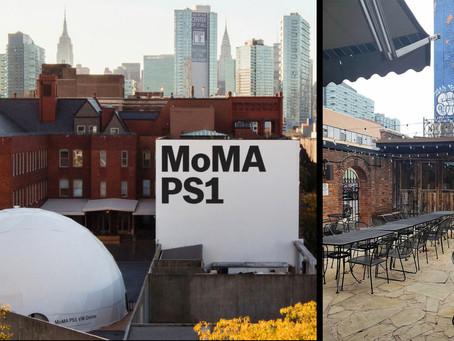 MoMA PS1 and a Backyard Garden Bar