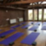 Yog classes at The Fold