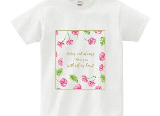 メッセージTシャツ love(愛)