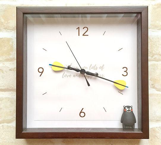 Heako 結婚祝い掛け時計