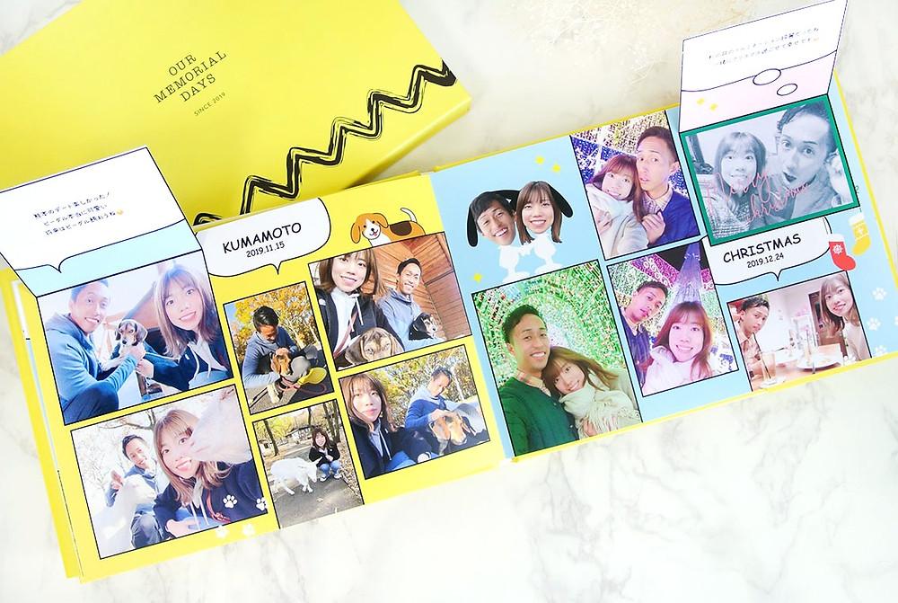 プロポーズや記念日のプレゼントにHearkoのオーダーメイドフォトブック・アルバム「結BOOK」