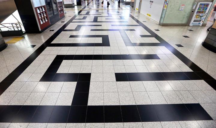 大阪駅の迷路