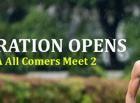 Singapore Athletics All Comer Meet 2