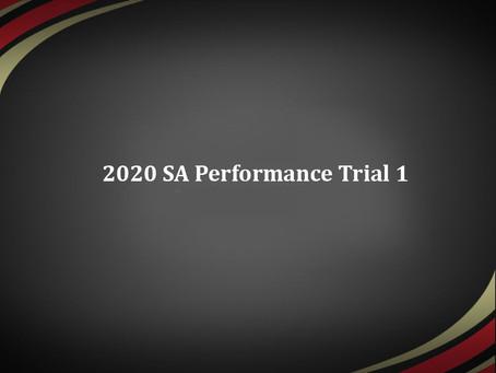 Singapore Athletics Performance Trials 1 Results