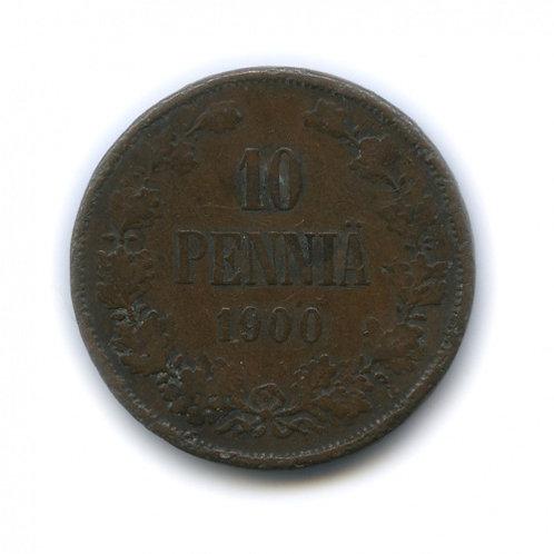 10 пенни 1900 г., Россия для Финляндии