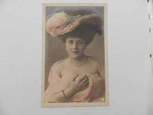 """Открытое письмо """"Demongey"""". Франция, до 1917 г."""