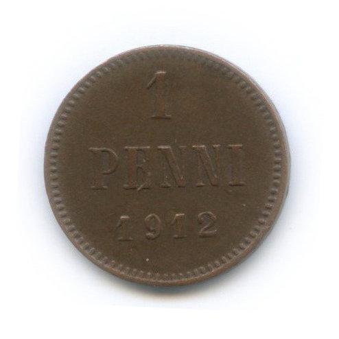 1 пенни,1912 г., Николай II