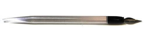 Перьевая ручка (18,5 см), перо меняется.