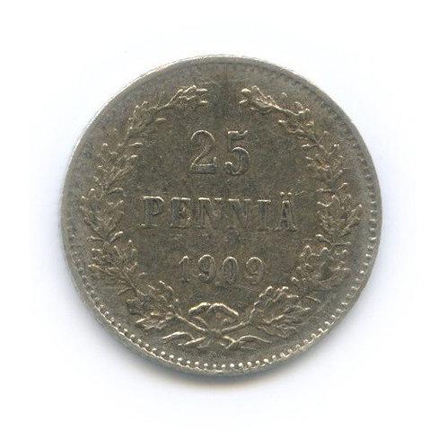 25 пенни 1909 г., L, Николай II