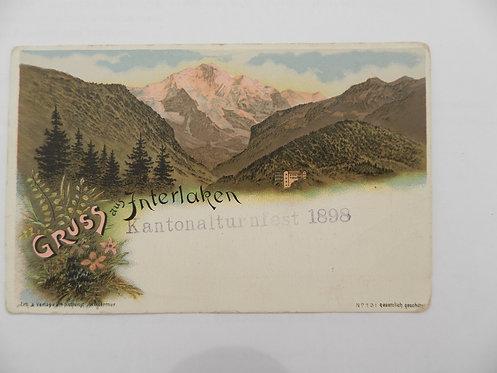 Открытое письмо, Франция, до 1917 г.