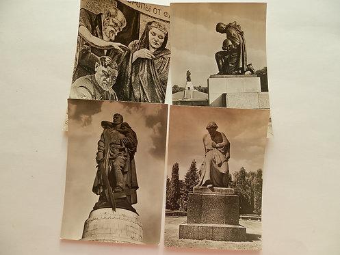 """Набор почтовых карточек """"Памятник воинам СА"""""""