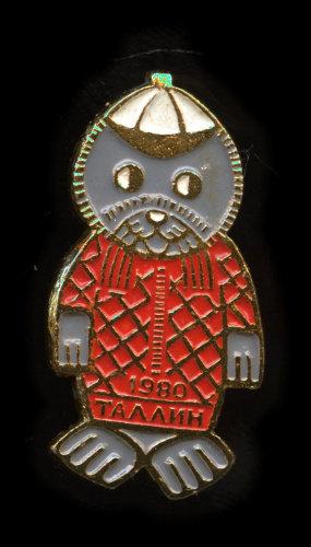 Знак «Олимпиада-80.Таллин», 1980 г, СССР.