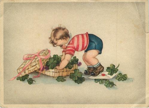 Карточка почтовая (30-е гг.) Германия
