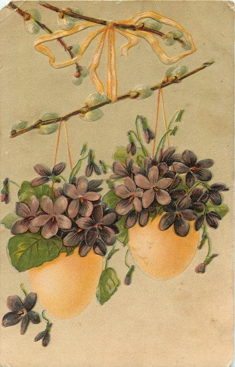 Карточка почтовая «Пасха» (Франция)
