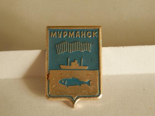 Значок г. Мурманск, СССР