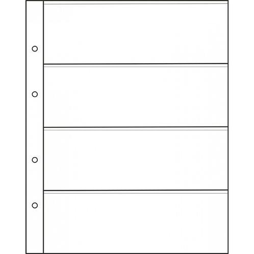 Лист на 4 боны, стандарт «Optima». ЛБ-4