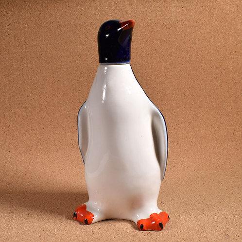 Штоф с крышкой «Пингвин», 22,5×11 см., СССР.