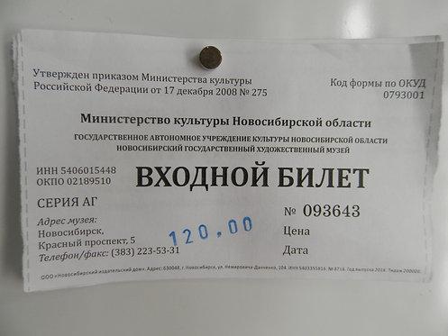 Билет в Новосибирский Государственный музей