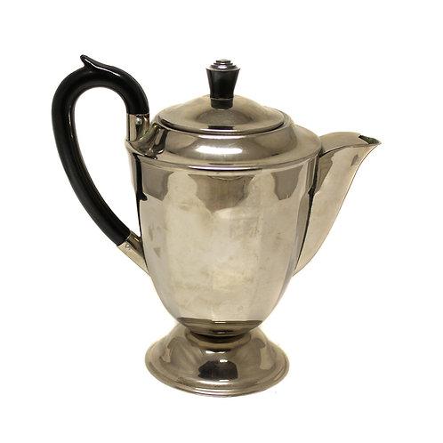 Чайник заварочный из нержавейки (11×19 см), СССР.