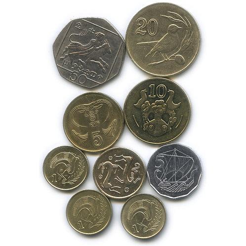 Набор монет Индонезии
