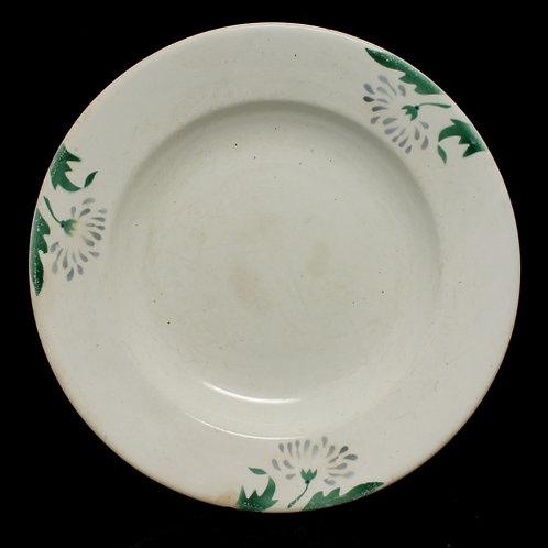 Тарелка, 24,5×4,5 см (скол 1,5 см) СССР