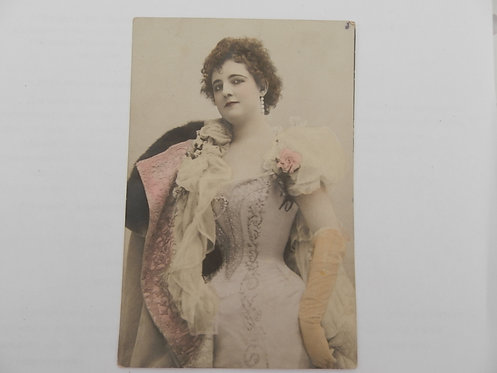 "Открытое письмо ""Дама в жёлтых перчатках"", до 1917 г."