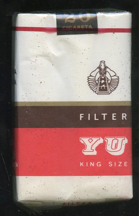 Пачка сигарет «YU» (целая) Югославия