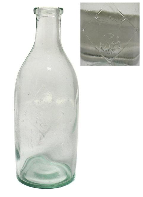 Бутылка с короной и вензелем (16,7 см)