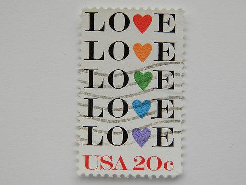 Марка почтовая США