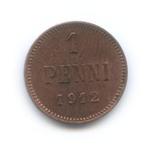 1 пенни 1912 г. Николай II
