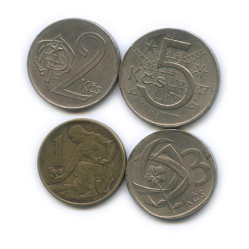 Набор монет Чехословакии