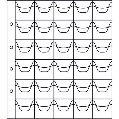 Лист на 30 ячеек стандарт «Numis» ЛММ-30