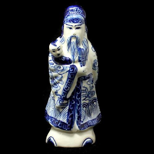 Фигурка «Мудрец» №2,  (фарфор, Азия, 15 см)