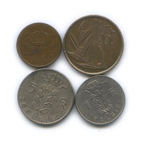 Набор монет Бельгии