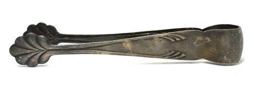 Щипцы для сахара (мельхиор, 13,7 см) СССР