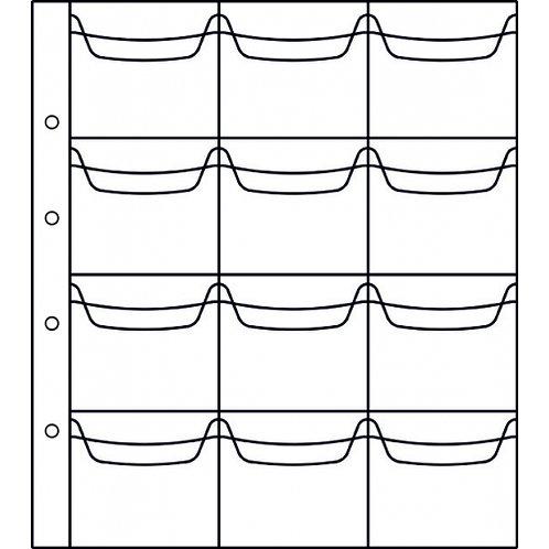 Лист на 6 ячеек, стандарт «Numis». ЛММ-6