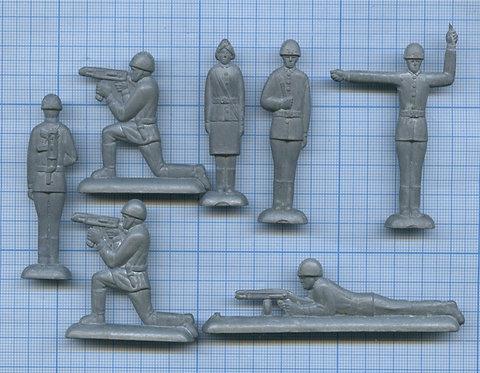 Набор оловянных солдатиков СССР