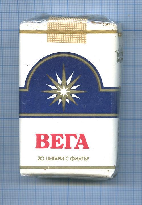 Пачка сигарет «Вега» (целая)