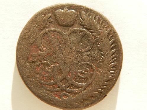 2 копейки 1758 г. Елизавета Петровна