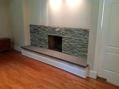 fireplace remodel,huntington home improvements