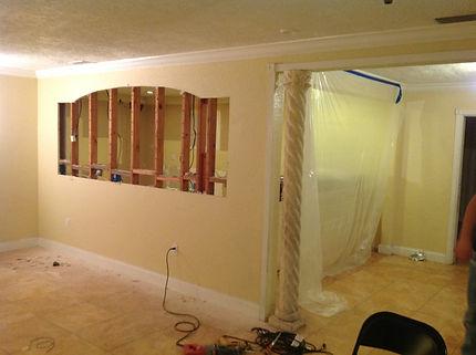 kitchen archway |cz construction