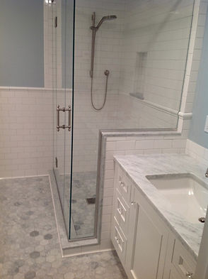 CZ Construction|marble bathroom